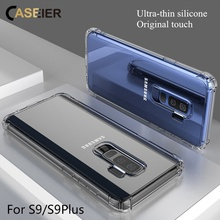 CASEIER Transparent Phone Case For Samsung Galaxy S9 S8 Plus Note 9 8 Anti-knock TPU Clear