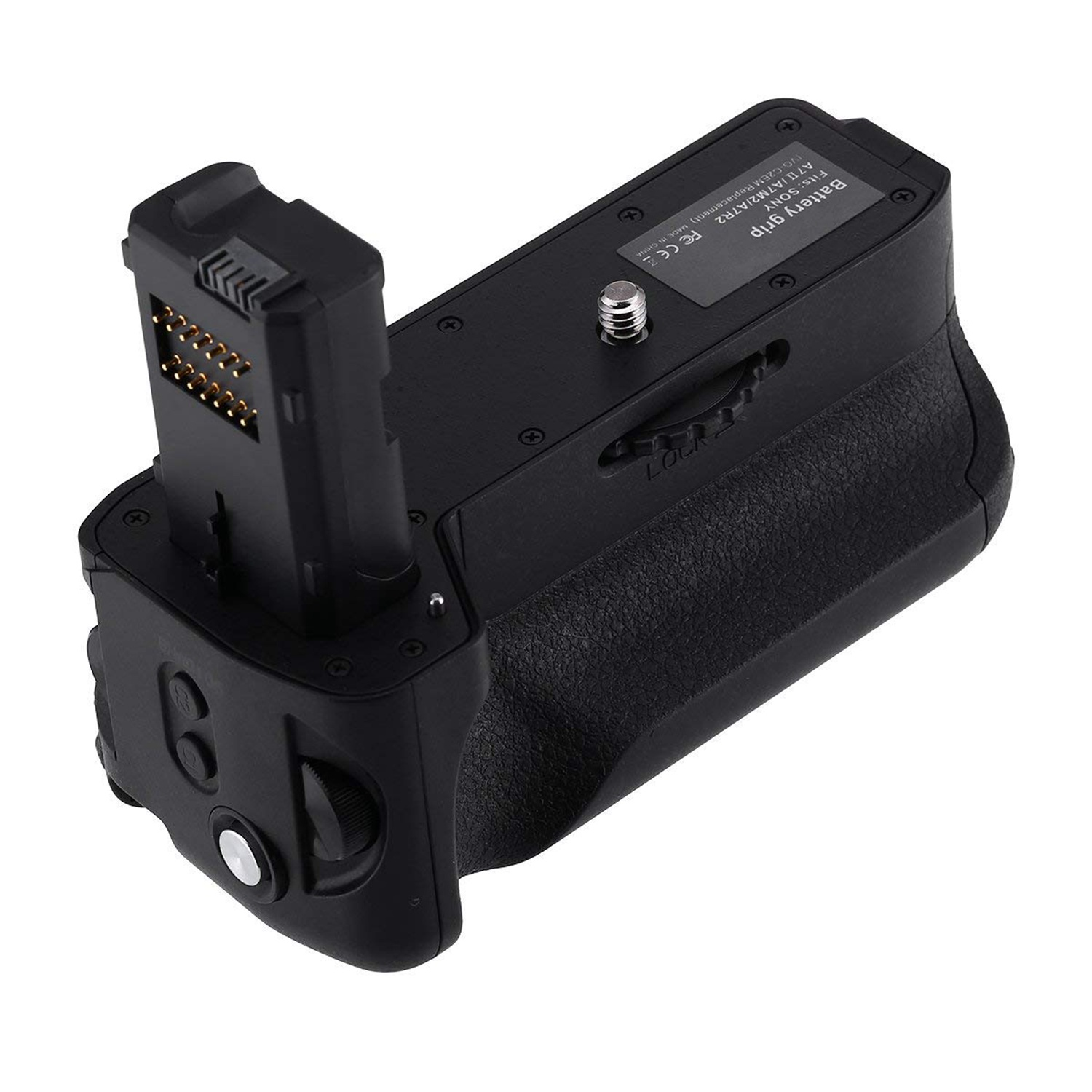Vg-C2Em Battery Grip Replacement For <font><b>Sony</b></font> Alpha <font><b>A7Ii</b></font>/A7S Ii/A7R Ii Digital Slr <font><b>Camera</b></font> Work With Np-Fw50 Battery image
