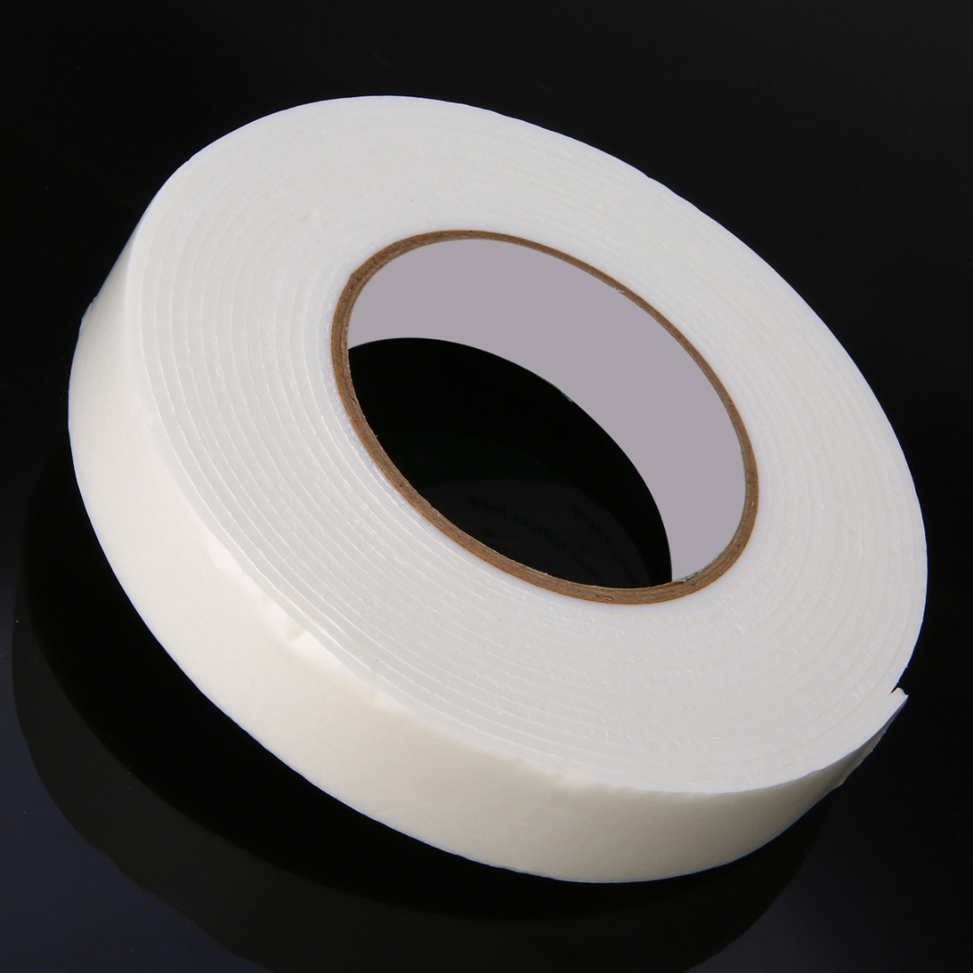 5m Double Sided Strong Tape White Double Sided Foam Tape