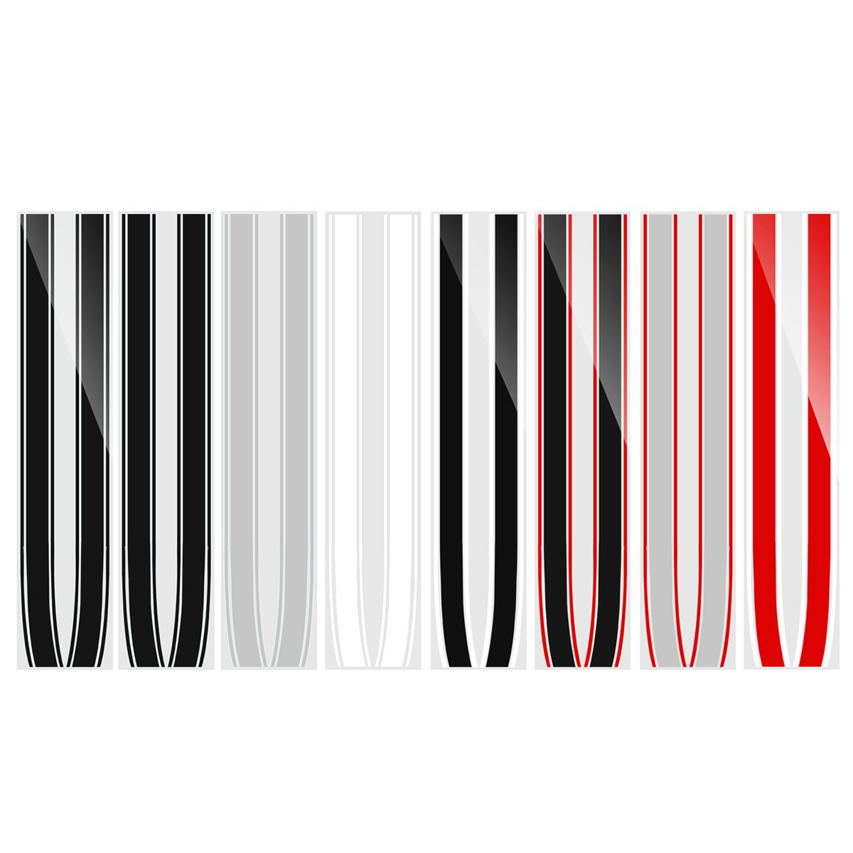 Engine Bonnet Hood Trunk Stripe Trim Sticker Line For Mini Cooper Bonnet Stripes R50 R52 R53 R55 R56 R57 For Mini Cooper S