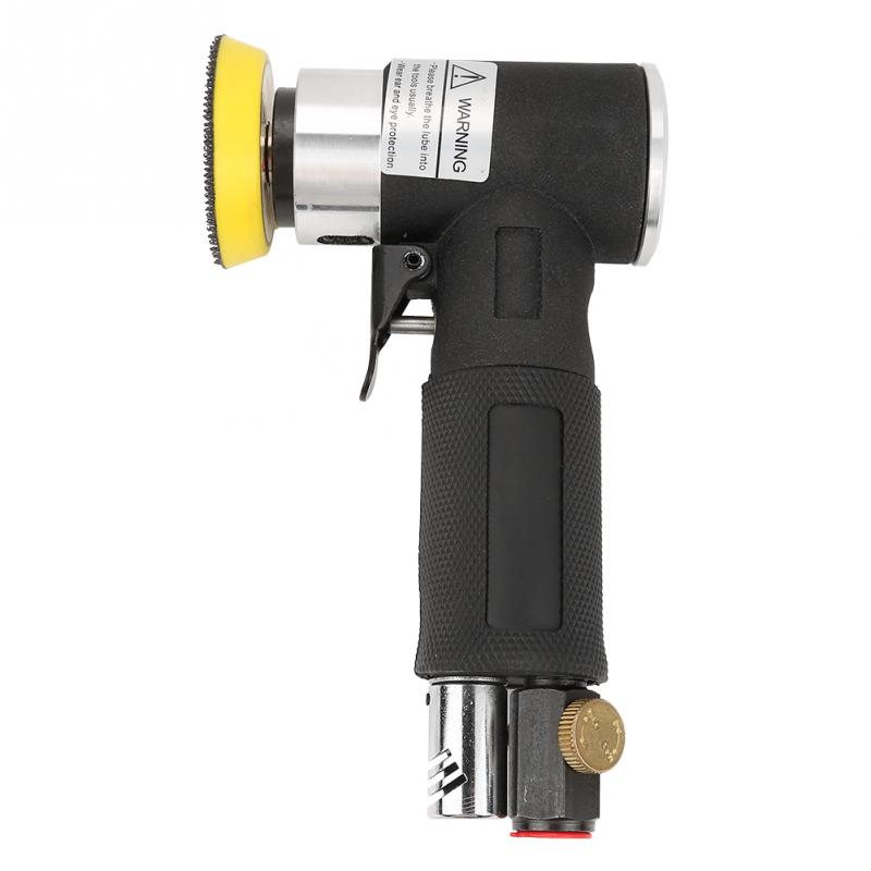 Image 3 - Mini Air Angle Sander 90 Degree Pneumatic Polishing Grinding Machine + 2inch 3inch Sanding Pad Air Angle Polisher Power Tools-in Pneumatic Tools from Tools on