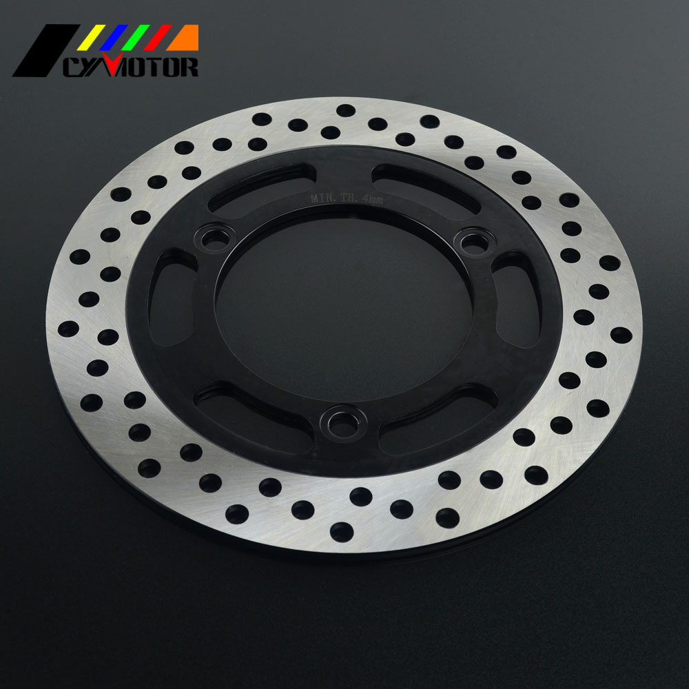 Motorcycle Rear Steel Brake Disc Rotor For KAWASAKI EX500 GPZ500 NINJA500 ZR250 Balius ZXR250-in Brake Disks from Automobiles & Motorcycles    1