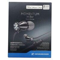 MOMENTUM In Ear Black Chrome M2 Iei (iOS version) Senn.heiser