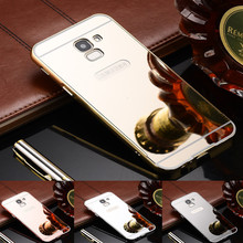 For Samsung Galaxy J6 2018 J 6 Case Luxury Gold Mirror Protective Back Cover Phone Case For Samsung J6 2018 J600f J600 Sm-j600f цена и фото