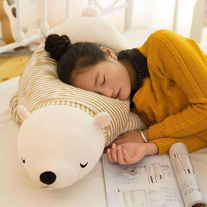Valentines Day Gift Baby Toys Stuffed Animals New Polar Bear Plush Toy Doll Soft Plush Doll