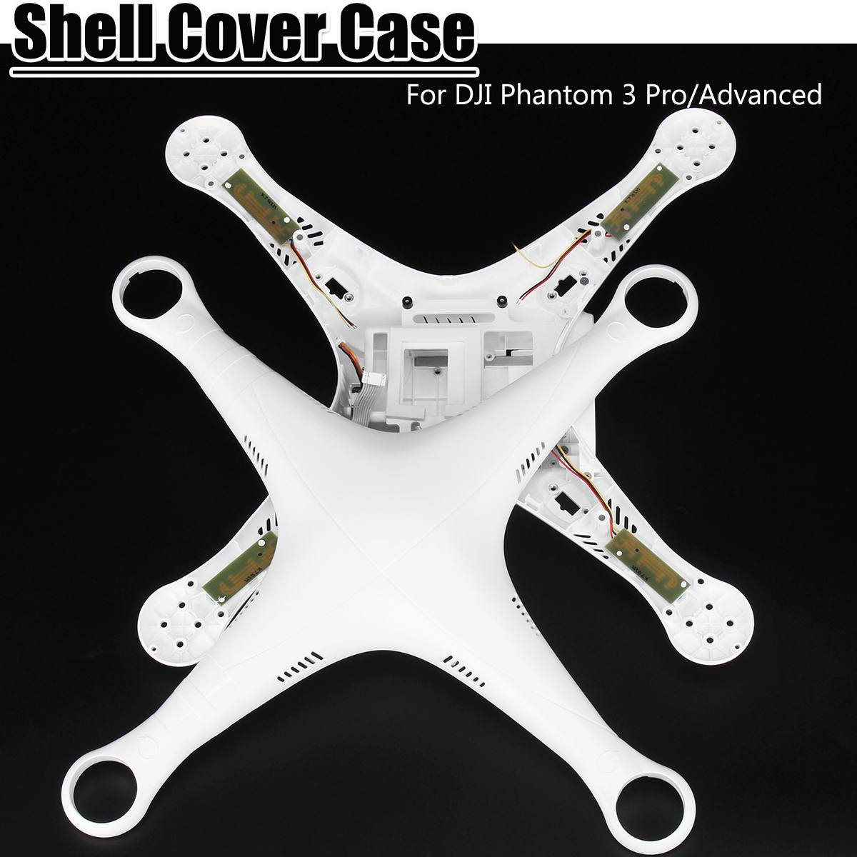 1pair Replacement Accessories Sticker For DJI Phantom 3 Pro/Advanced Body Shell Housing Cover/Landing Gear Legs Repair Parts
