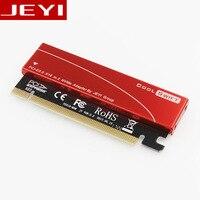 JAYI Cool Swift NVME M.2 X16 PCI-E Пылезащитная Сборная Панель 2280 Алюминиевый Лист Золотые Прутки Термальность Силиконовая Вафельная Система Охлаждения