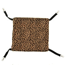 Cat Cage Hammock Swing Bed Mattress - Size S (Leopard Pattern)(China)