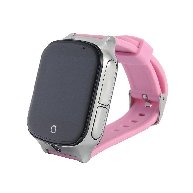 A19 LBS + GPS + emplacement WIFI montre de sécurité intelligente pour bébé appel SOS pour surveiller vos enfants et enfants suivi Smartwatch support carte SIM