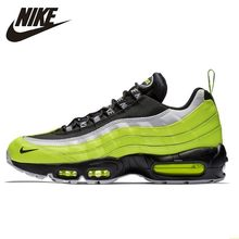 Nike Air Max 95 Og Original Men Running Shoe Air Cushion Restore Ancient Ways Comfortable Breathable Sneakers #538416-701(China)