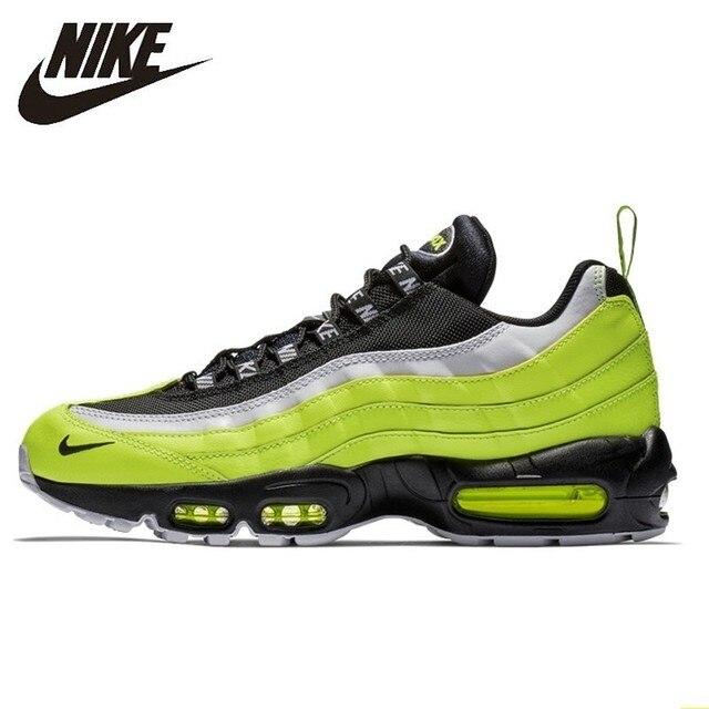 Nike Air Max Og 95 Restaurar Antigas Formas Dos Homens Originais Tênis de Corrida Almofada de Ar Confortável Respirável Sneakers #538416- 701
