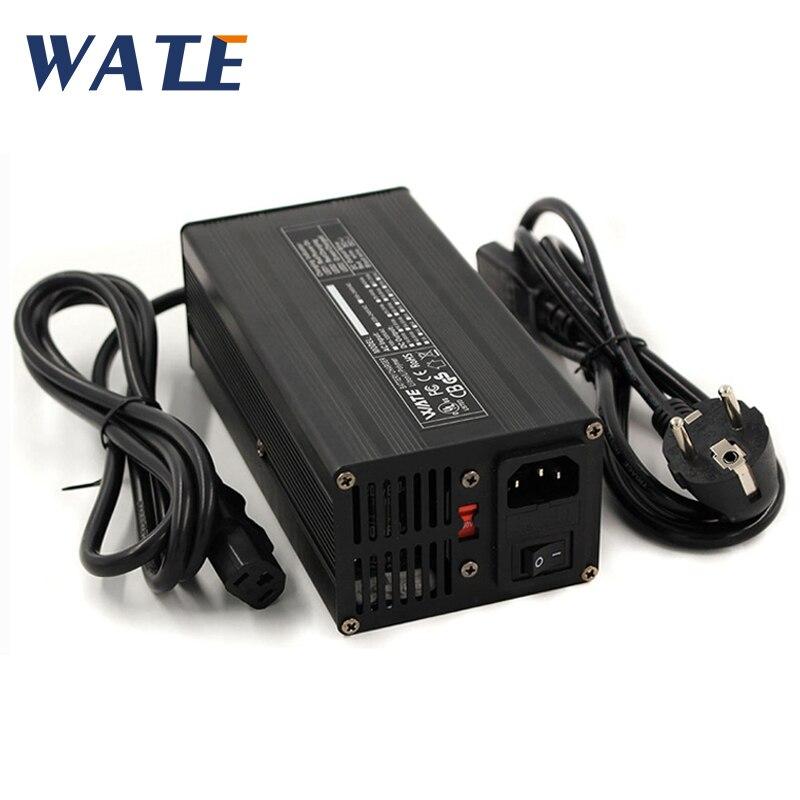 Chargeur de batterie au Lithium 54.6 V 7A pour moto électrique batterie au Lithium 48 V