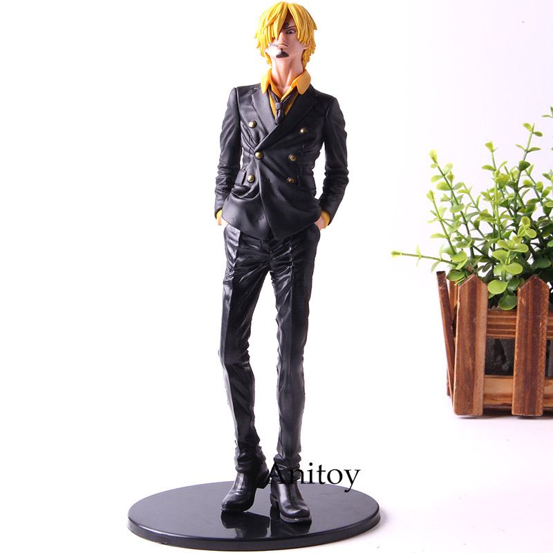 Banpresto <font><b>One</b></font> <font><b>Piece</b></font> <font><b>Ichiban</b></font> <font><b>Kuji</b></font> Vinsmoke Sanji Anime Action Figures PVC Collection Model Toys image