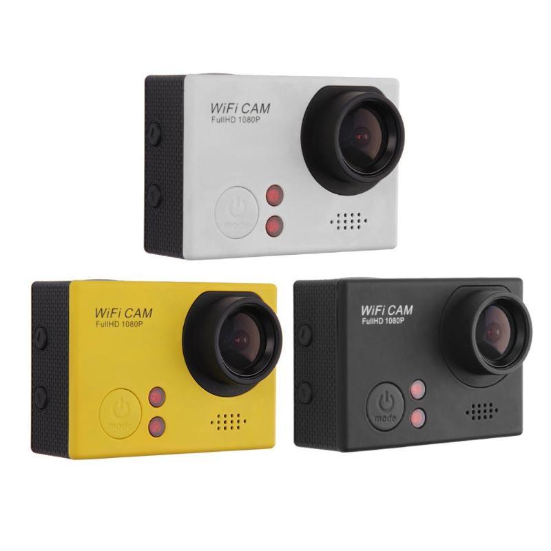F58 WiFi HD Caméra 60fps 1.5in Écran TFT caméra imperméable 1080 P Sous-Marine Plongée Mini caméra extérieure avec télécommande