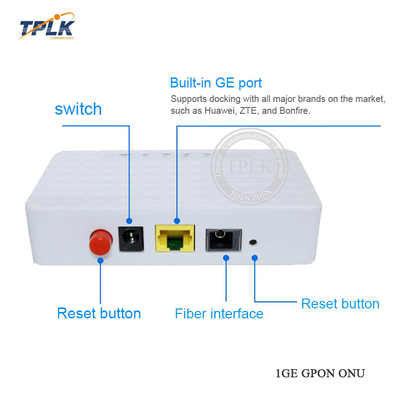Hottest Best Price 1lan+1pot 1pots+1fe English Firmware Original Hua Wei Hg8010f Optical Ftth Unit Cellphones & Telecommunications