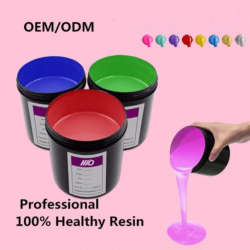250 ml/500 ml/1 KG Gel de vernis à ongles en vrac vernis à ongles Gel vernis à tremper UV Gel laque couche de finition sans lingette en gros Gel vernis Gellak
