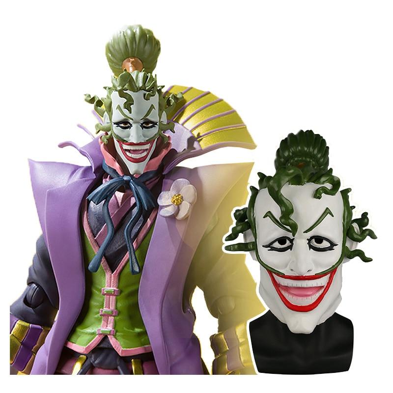 Anime Movie Batman Ninja Devil Joker Mask Cosplay Prop Scary Joker Helmet Aliexpress