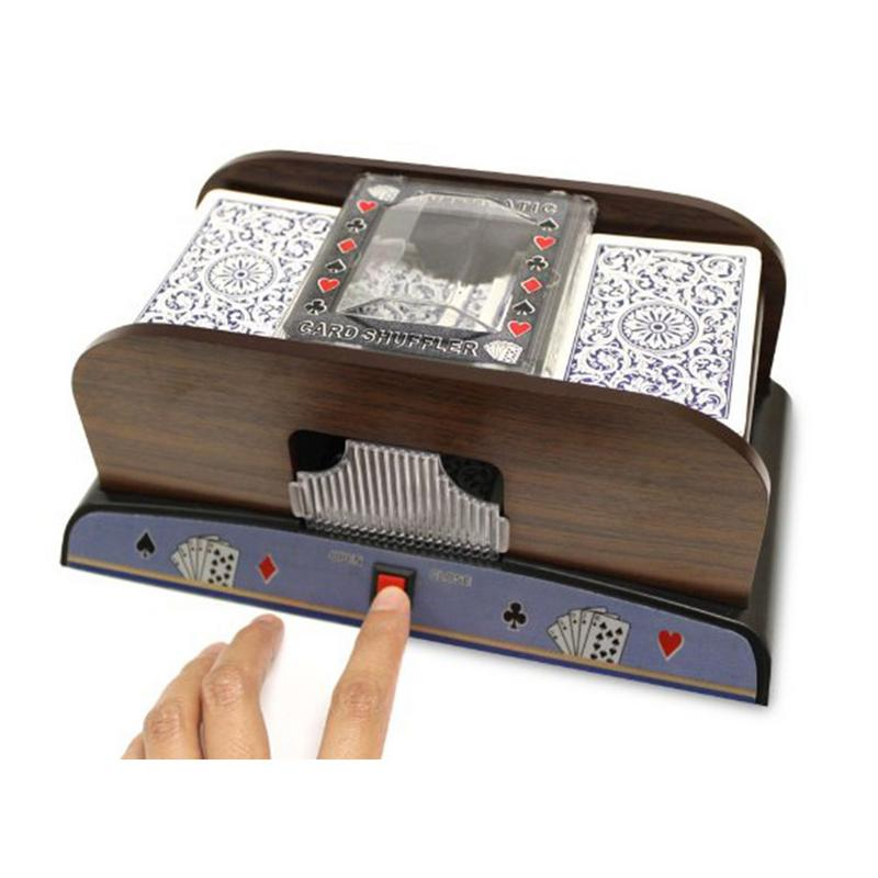 Poker Card Shuffler Sorter Automatic Shuffling Machine Casino Robot 2 Decks
