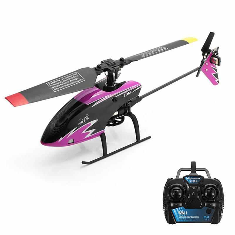 2019 nouveau chaud ESKY 150 V2 2.4G 5CH Mini 6 Axes gyroscope sans mouche hélicoptère RC avec contrôleur de vol CC3D pour enfants jouet de plein air