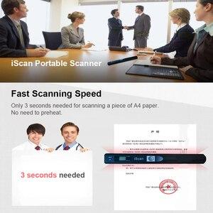 Image 5 - IScan портативный мини сканер для документов, портативный сканер для документов формата А4, книжный сканер формата JPG и PDF 300/600/900 DPI для сканирования документов