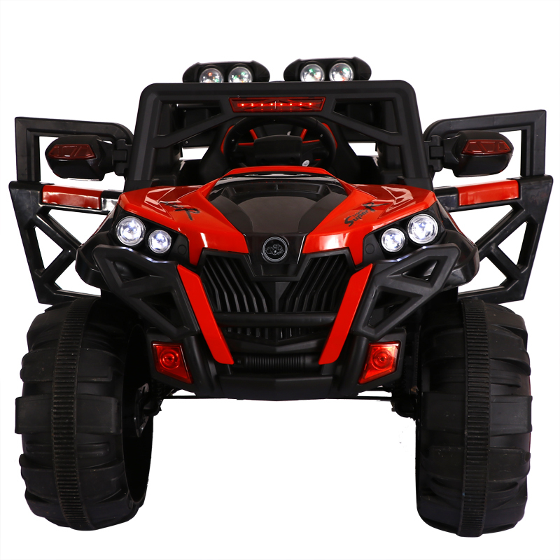 Super Big Kids Four Wheel Drive Electric Car Remote Control Toy Shock Absorption Electric Suv Can Drive Sit Baby Toy Car