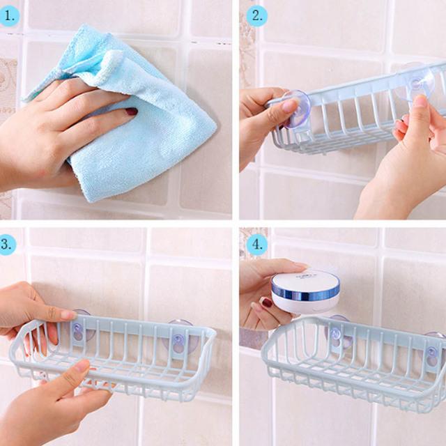 Kitchen Plastic Sink Storage Holder