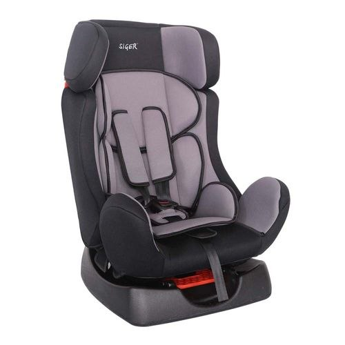 Car Seat SIGER Диона Gray, 0-7 years old, 0-25 kg, group 0 +/1/2 (KRES0462) car seat siger art диона alphabet 0 7 years old 0 25 kg group 0 1 2 kres0467