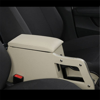 Interior Mouldings Car styling Car Arm Rest Upgraded protector Accessories Decorative Decoration Armrest Box FOR Skoda Rapid