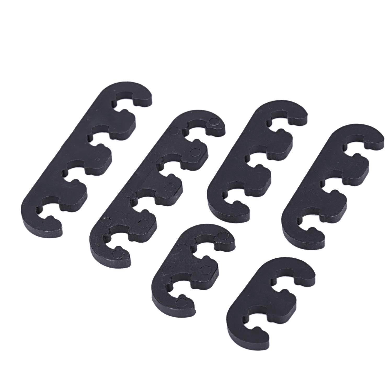 7mm 8mm Black Plastic Plug Wire Separators Dividers Looms