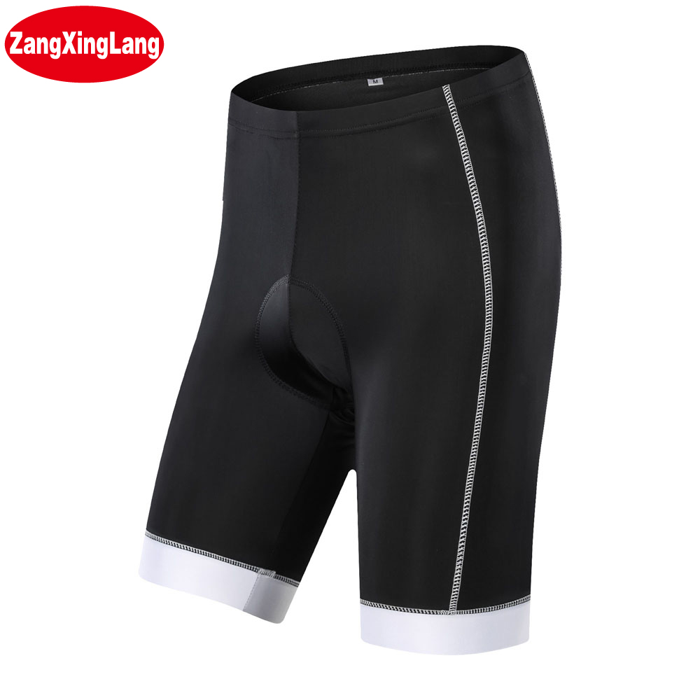 Zangxinglang Coolmax Mountain Bike ProTeam Summer Men And Women MTB Bicycle Cycling Shorts Silicon With Gel Pads Black And Cheap