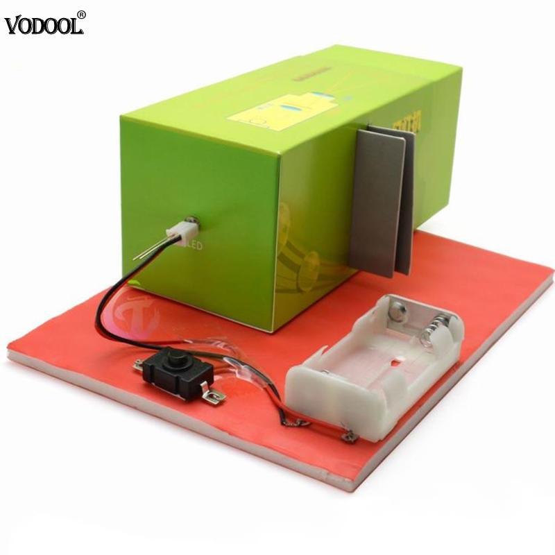 DIY Slide Projector Model Lamp Handmade Materials Scientific Experiment Toy DIY Slide Projector Model Kit Durable Hot