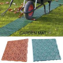 Нескользящие коврики, садовый пластиковый пол, Балконный садовый коврик, коврик для прихожей, домашний декор, асорбент, ковер, кухонный пол, квадратный