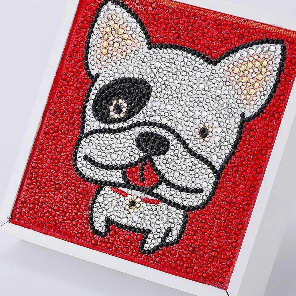 HUACAN 5D DIY бриллиант картина мультфильм особой формы картина с алмазной вышивкой горный хрусталь Детская комната украшения 15x15 см