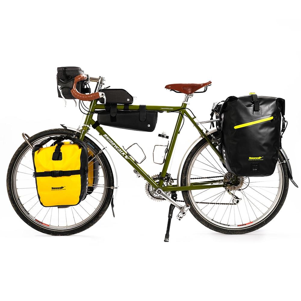 Rhinowalk Mountain Road Bicycle Bag Waterproof Portable 20L Bike Rear Seat Luggage Package Wear resistant Bike