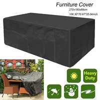 Waterproof Outdoor Furniture Covers Garden Patio Rattan Table Sofa Set Sun Protection Rain Snow Dustproof Cover