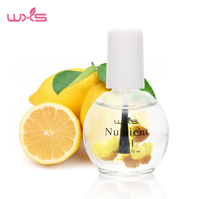 Cuticle Oil 12ml Nail Treatment Dry Flower Nourishment Olje Reparation Och Näringsrik Nail Cuticle Plant Fett Nutriment Nail Oil