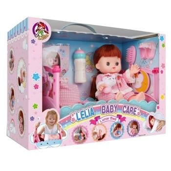 2019 New Creative 14Pcs/set Children Pretend Play Dolls Beauty Toy Baby Care Playset Girls' Fun