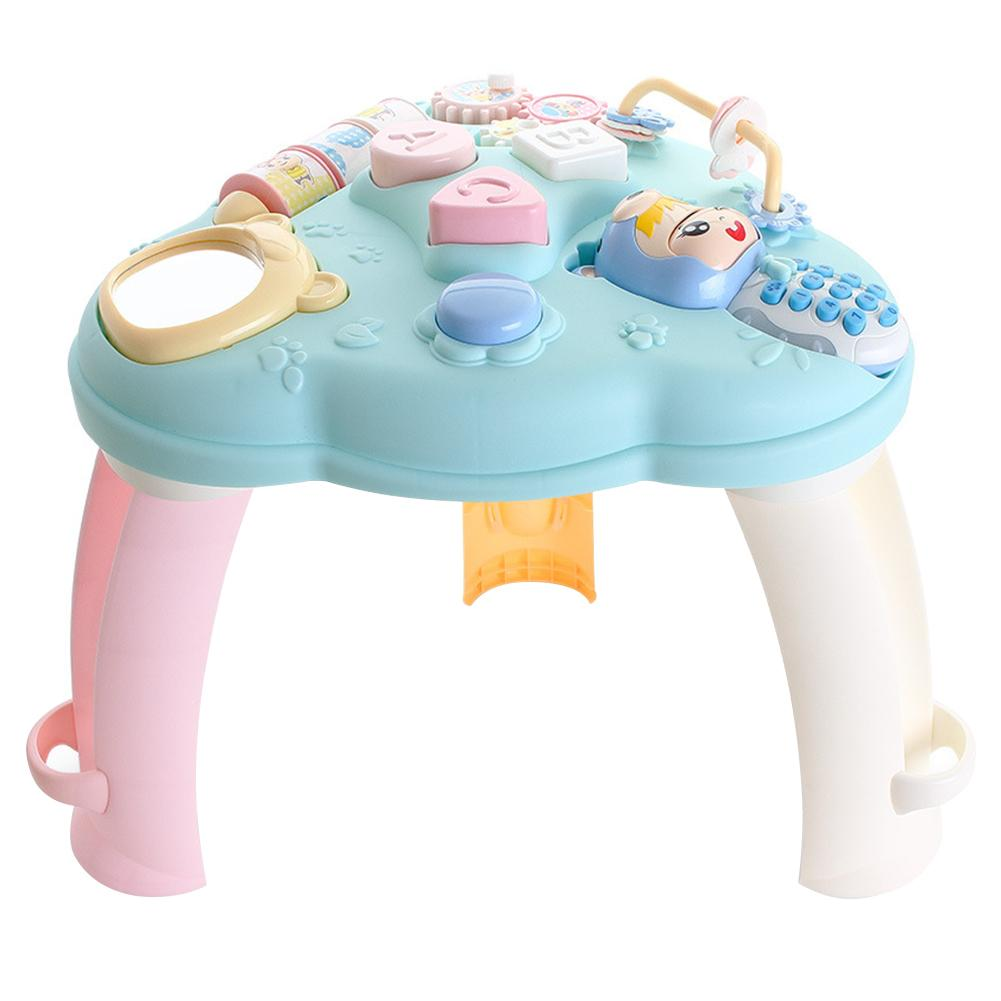 Multi-fonction bébé jouets Musical apprentissage Table up éducation précoce musique activité Center jeu Table bambins infantile enfants jouets
