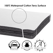 Turetrip 160X200CM Terry Waterproof Bed Sheet Mattress Protector For Bed Hopspital Sheet Anti Mites Bed Cover For Mattress Pad