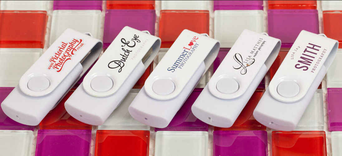 Пользовательский логотип металлический зажим фотография персонализированные флеш-диск USB 2,0 Memory Stick (более 20 шт, Бесплатная плата за логотип)