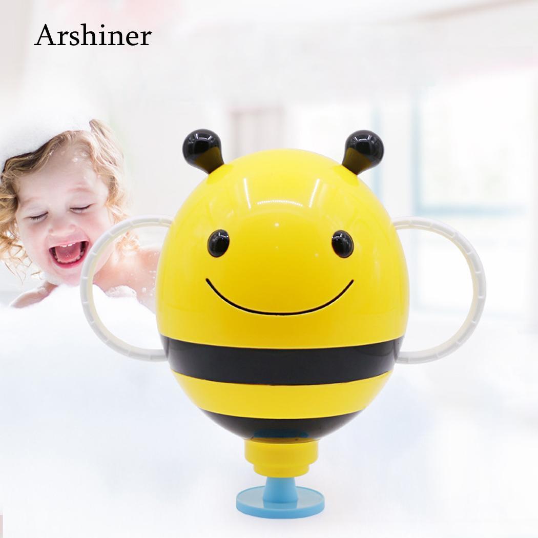 High Quality Bee Bath Toy Funny Cartoon Bee Shape Water Spray Sprinkler Toy Baby Bath Toy Children Kid Gift