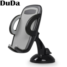 DuDa Universal Car Phone holder for xiaomi redmi note 7 iphone x Mobile phone windshield mount Cellphone Smartphone Stand