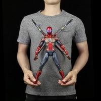 Marvel Genuine Authorization Spiderman Iron Man Captain America toy model activity doll The Avengers
