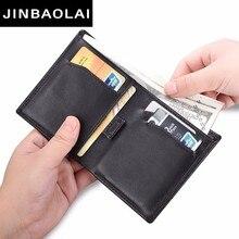 купить Brand Wallet Men Leather Men Wallets Purse Short Male Leather Wallet Mens Money Bag Quality Guarantee Telescopic Design Wallets по цене 676.06 рублей