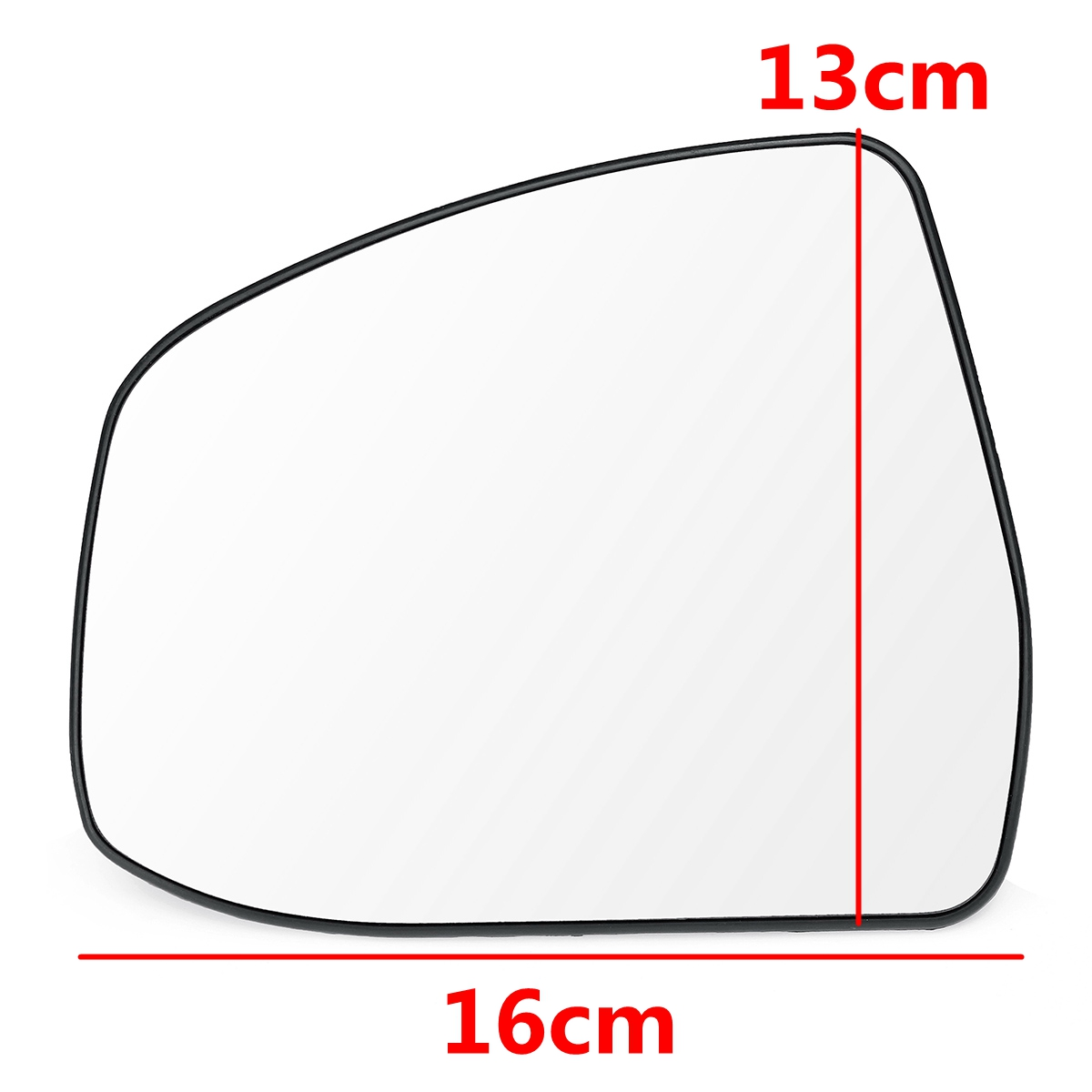 FORD RANGER CONVEX LEFT SIDE CLIP ON NEW REPLACEMENT WING MIRROR GLASS 2011