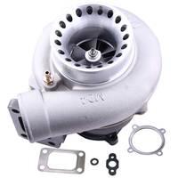 Turbo зарядное устройство Turbolader GT3582 GT35 AR0.70 AR 0,63 анти всплеск T3 GT30 турбо Корпус компрессора 4 болта двигатель сбалансированный