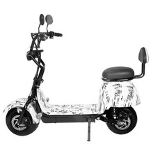 2019Electric car bicycle adult driving men and women models mini small battery scooter Harley