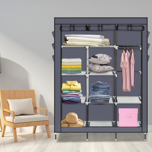 DIY Bedroom Wardrobe Assembly Kit