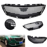 Car Front Grille Grill Fit Cadillac XTS SEDAN 2018 Black ABS Plastic New