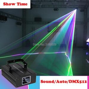 Image 4 - เวลาแสดงParty Partyดีเจโปรเจคเตอร์เลเซอร์สแกนเนอร์เลเซอร์DMX RGBเวทีแสงสำหรับDisco Xmas Party 1 holeเลเซอร์แสดง